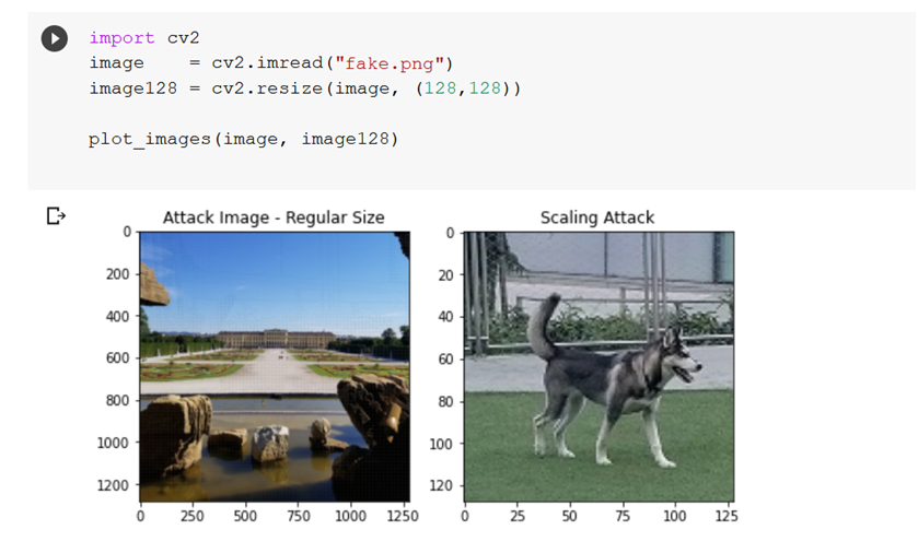 Image Rescaling Attack