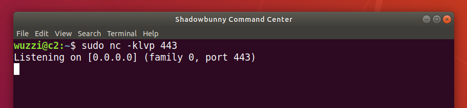 Shadowbunny Command Center